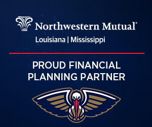 New Orleans Pelicans Partnership graphic